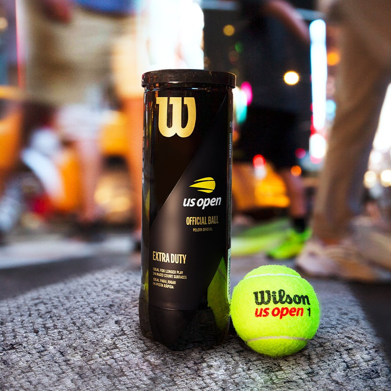 Wilson US Open Extra-duty Tennis Balls 4 Can Pack