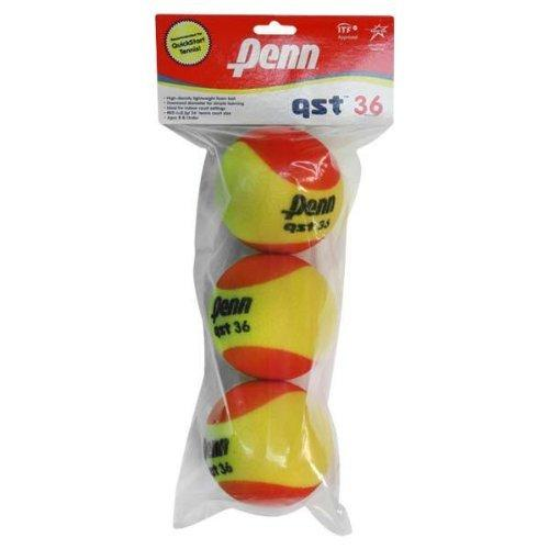 Head Penn QST 36 Felt Ball 3-Ball Polybag