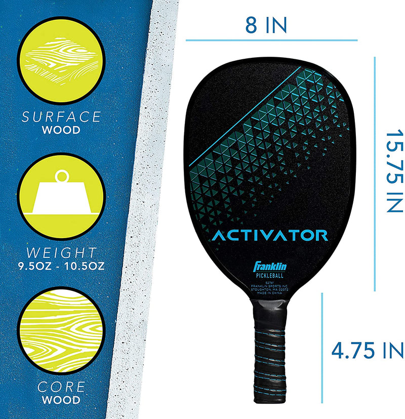 Franklin Activator Player Wood Pickleball Paddle
