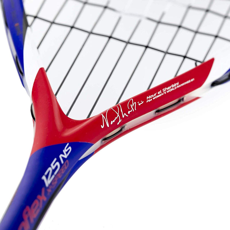 Tecnifibre Carboflex 125 NS X-Speed Squash Racket - Smash Nation