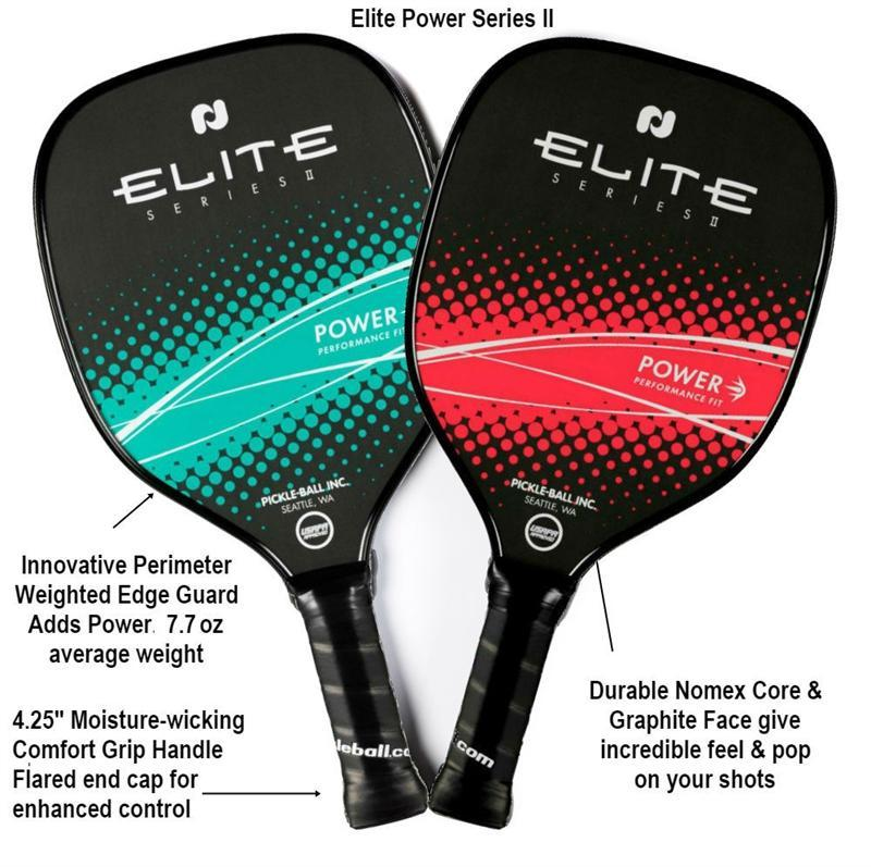 Elite Power Series II Graphite Pickleball Paddle - Smash Nation