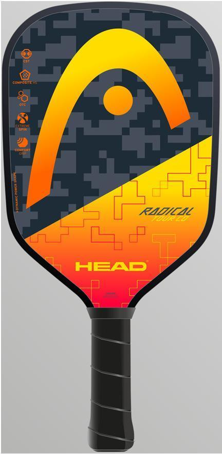 Head Radical Tour CO Pickleball Paddle-Orange