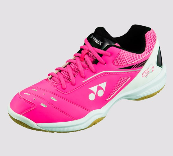 Yonex Power Cushion 65R2 Ladies Badminton Shoes [Pink]