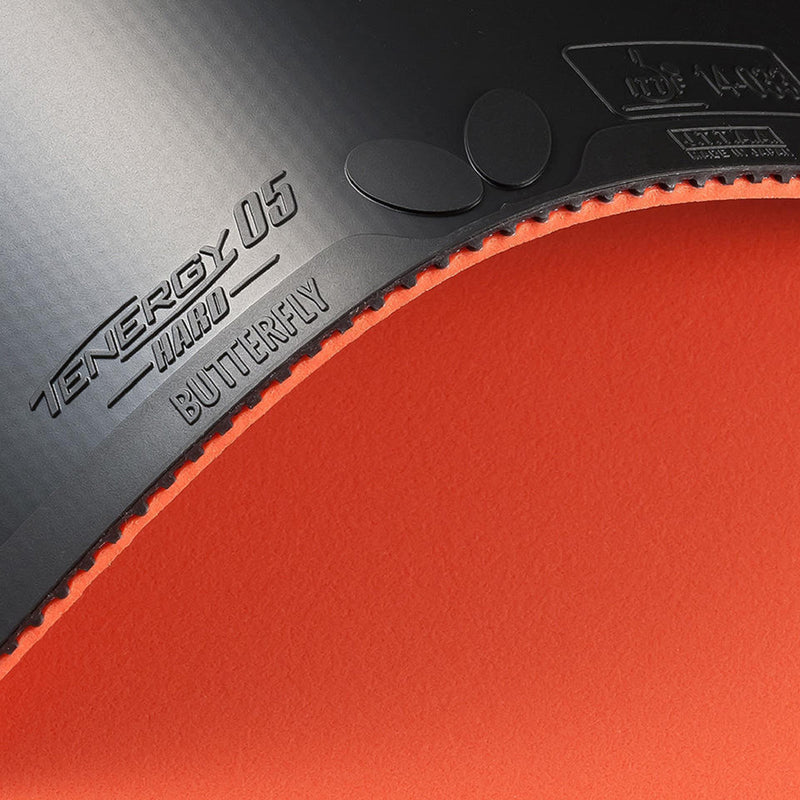 Butterfly Tenergy 05 Hard Table Tennis Rubber - Smash Nation