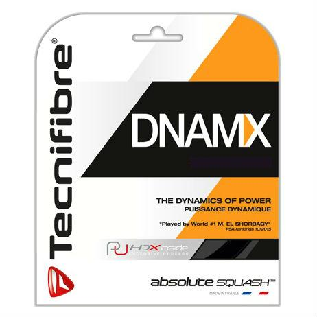 Tecnifibre DNAMX 17 Squash String (Black) - Smash Nation