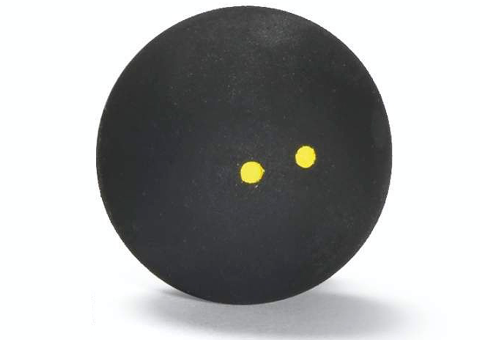 Wilson Staff Double Yellow Dot Squash Balls 2-Pack - Smash Nation