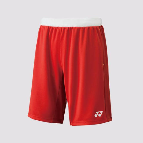 Yonex 15064 Mens Shorts (Red)-LEE CHONG WEI