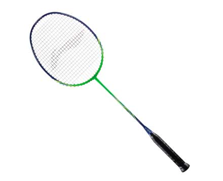 Li-Ning Turbo Force 1000 Strung Badminton Racket (Green/Blue) [AYPN208] - Smash Nation