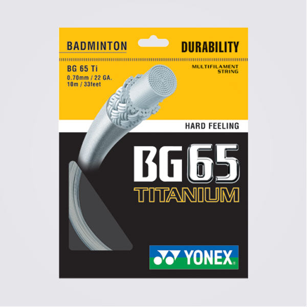 Yonex BG65  Ti Badminton String - Smash Nation