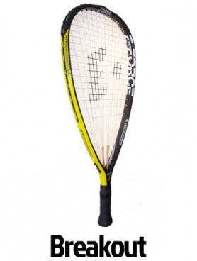 E-Force Breakout Racquetball Racket - Smash Nation