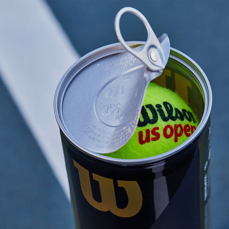 Wilson US Open Extra-duty Tennis Balls 3-ball Can