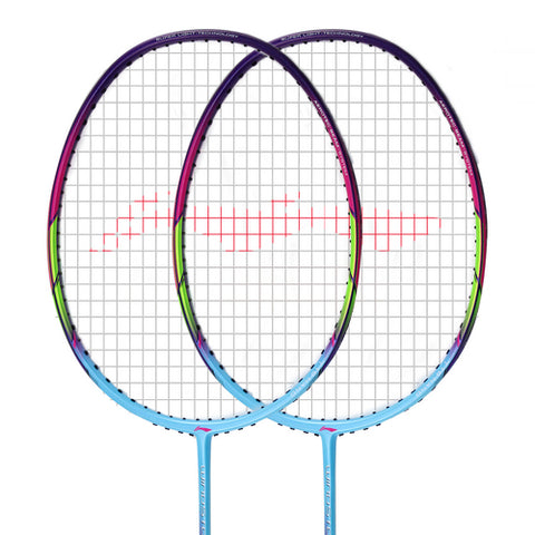 Li-Ning Windstorm-72 Badminton Racket Frame (Blue) [AYPM084] - Smash Nation