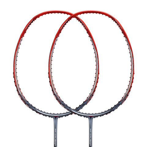Li-Ning 3D Calibar-900B(N90IV) Badminton Racket Frame (Grey/Red) [AYPM428] - Smash Nation