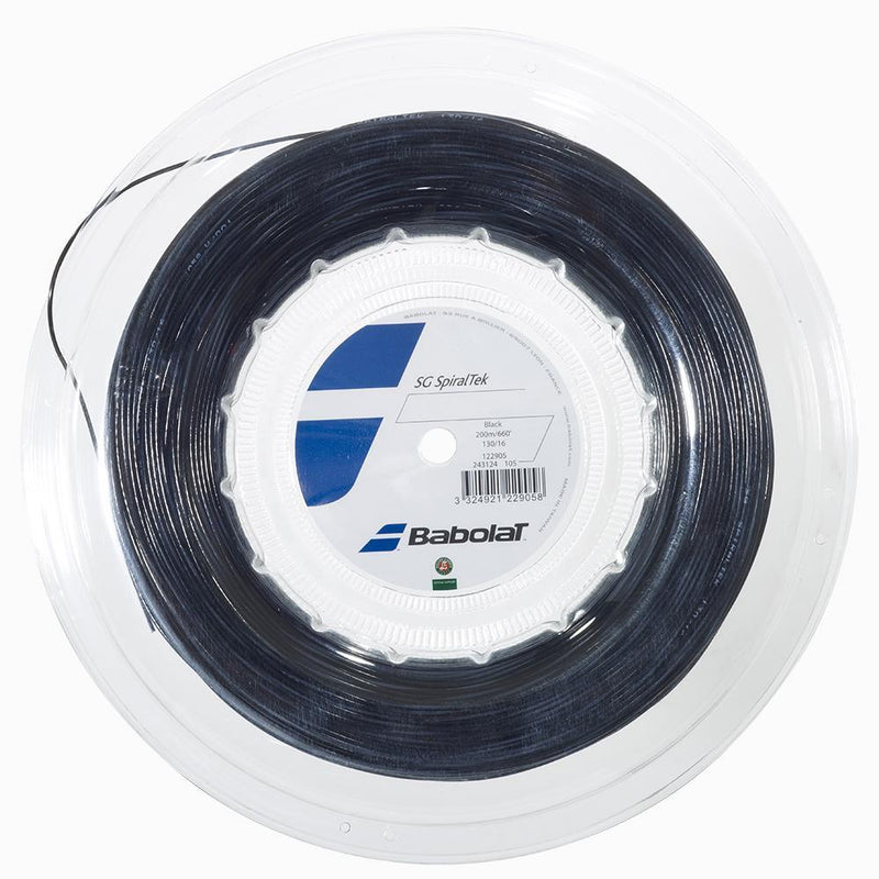 Babolat SG SpiralTek 16 Tennis String Reel-200m - Smash Nation
