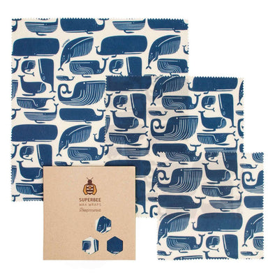 BeesWax Wrap Set - Whale