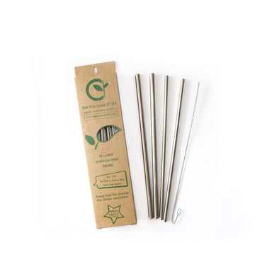 Straws Stainless steel x4