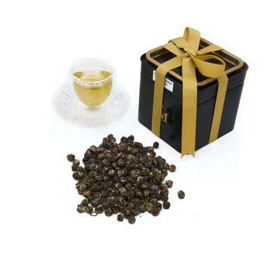 Organic Jasmine Dragon Pearl Green Tea