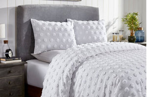 CHENILLE DUVET COVER SET