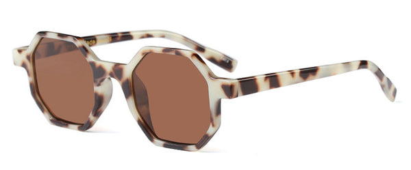 Retro Octagon Sunglasses