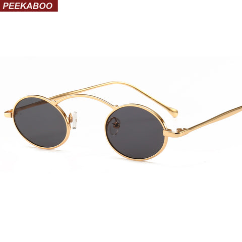 Vintage Small Oval Sunglasses