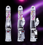 Super Crystal Rabbit Vibrator ( Perfect Twists and Rotates ) - SexyLife Sextoys