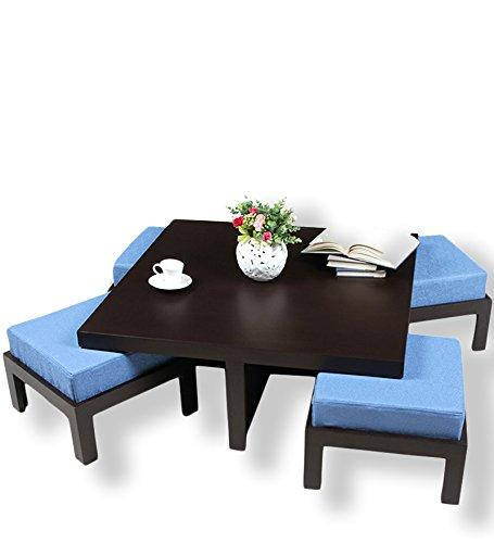 Mamta Decoration Solid Sheesham Wood 4 Chair Coffee Table - Mamtadecoration