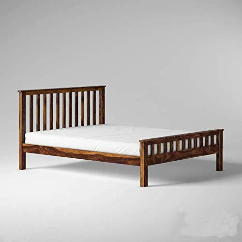 Mamta Decoration Solid Sheesham Wood Queen Size Bed - Mamtadecoration