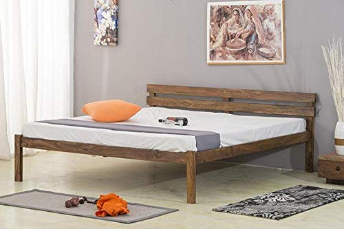 Mamta Decoration Solid Wood Furniture Charlie Bed