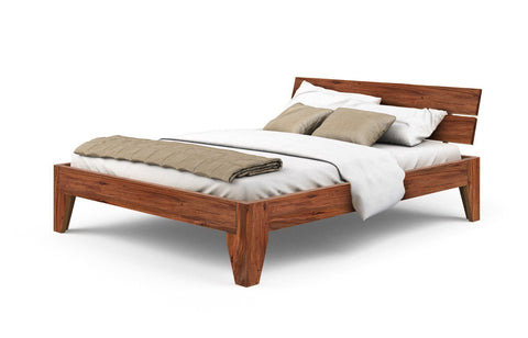 Mamta Decoration Solid Sheesham Wood Queen Size Bed, 180x150cm - Mamtadecoration