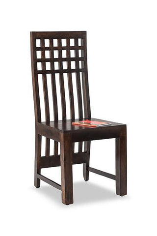 MAMTA DECORATION SHEESHAM WOOD KUBER CHAIR - Mamtadecoration