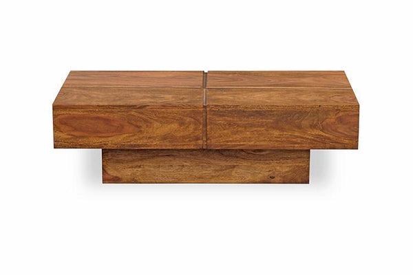Mamta Decoration Solid Sheesham wood Coffee Table with Drawer - Mamtadecoration