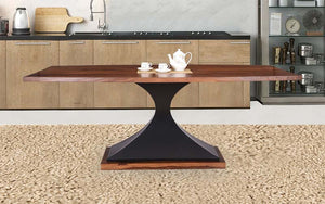 Mamta Decoration Solid Sheesham Wood Six Seater Dining Table