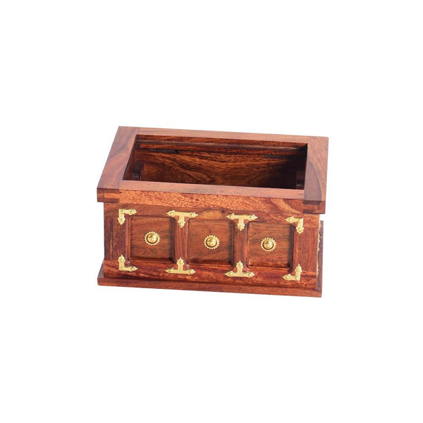Mamta Decoration Solid Sheesham Wood Bangle Box