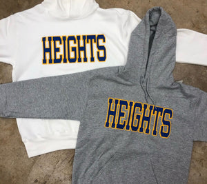 Alamo Heights White Sweatshirt