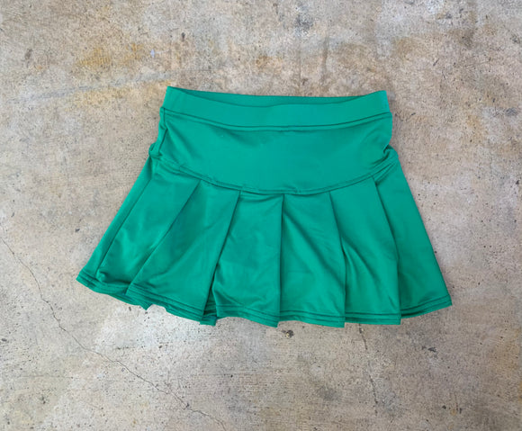 Green Tennis Skirt