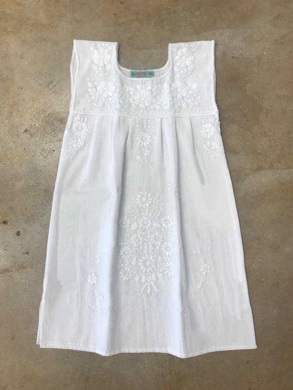 White Fiesta Dress