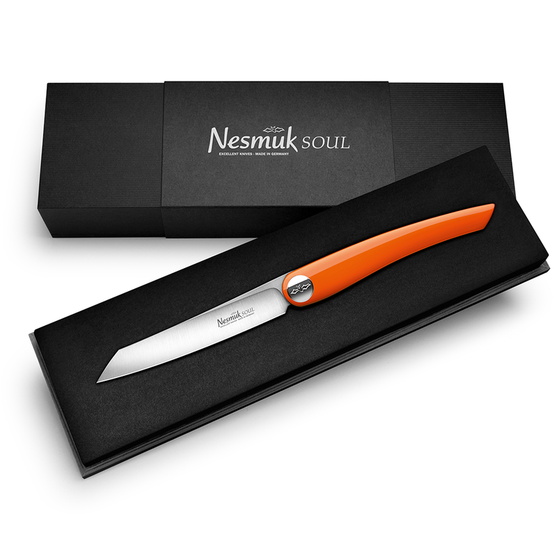 Nesmuk Soul Folder Klavierlack Orange