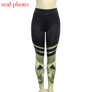 Simenual Harajuku push up fitness legging camouflage stripe bodybuilding women's leggings sportswear athleisure female pant sale