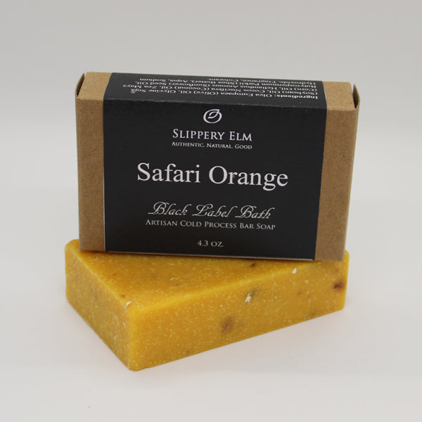 Safari Orange Cold Process Bar Soap (4.3 oz.)