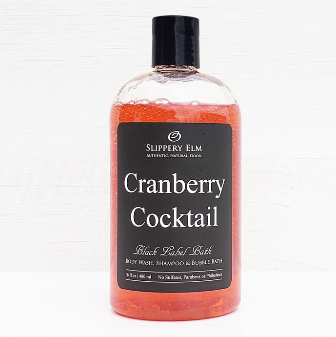 Cranberry Cocktail Shower Gel, Shampoo & Bubble Bath (16 fl. oz.)
