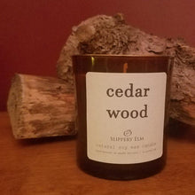 Load image into Gallery viewer, Cedar Wood Soy Candle (8.5 oz.)