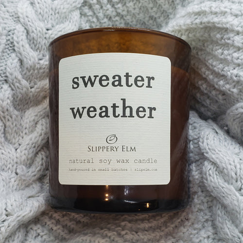Sweater Weather Soy Candle (8.5 oz.)