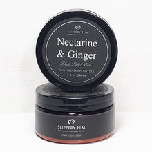 Load image into Gallery viewer, Nectarine & Ginger Whipped Body Butter (8 fl. oz)