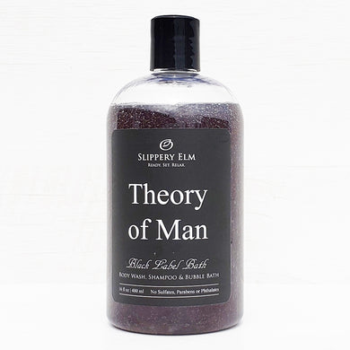 Theory of Man Shower Gel, Shampoo & Bubble Bath (16 fl. oz.)