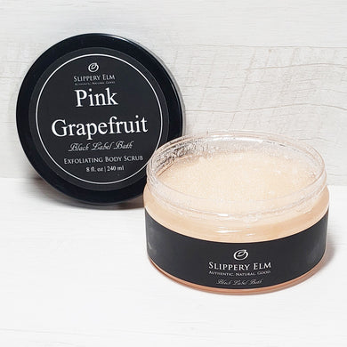 Pink Grapefruit Exfoliating Body Scrub (8 oz.)