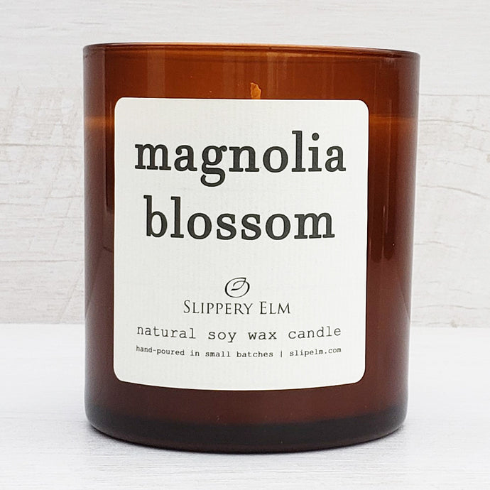 Magnolia Blossom Scented Soy Candle (8.5 oz.)
