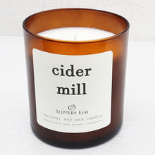 Load image into Gallery viewer, Cider Mill Scented Soy Candle (8.5 oz.)