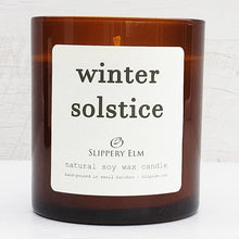 Load image into Gallery viewer, Winter Solstice Scented Soy Candle (8.5 oz.)