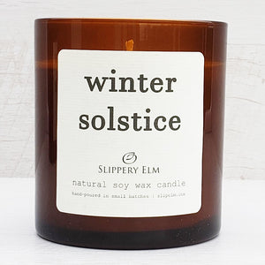 Winter Solstice Scented Soy Candle (8.5 oz.)