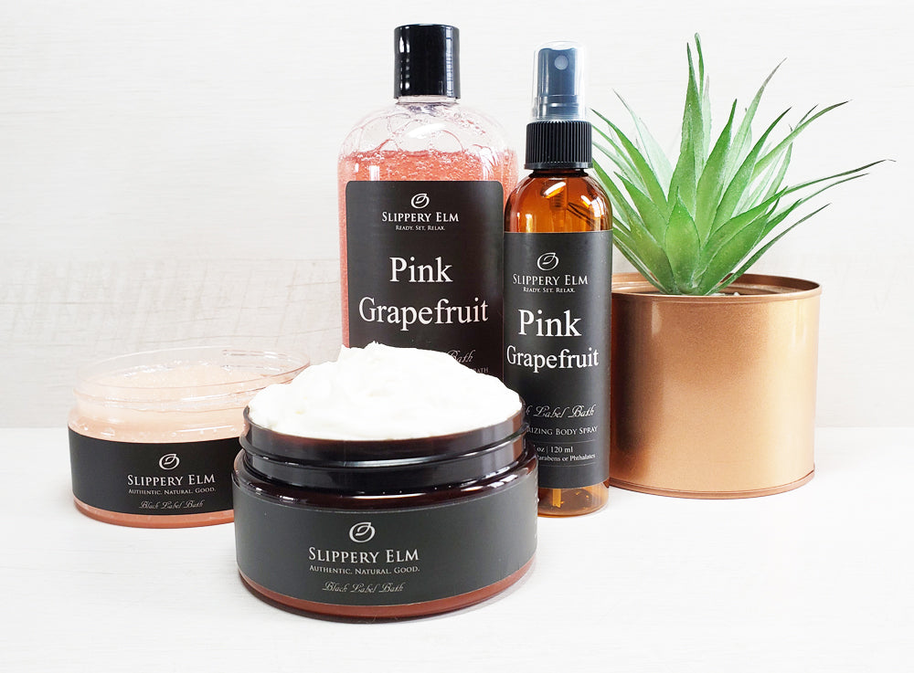 Pink Grapefruit Full Bath Experience Gift Set